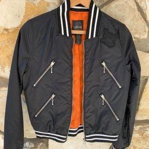 Stussy X Kostas Sermetis bomber jacket